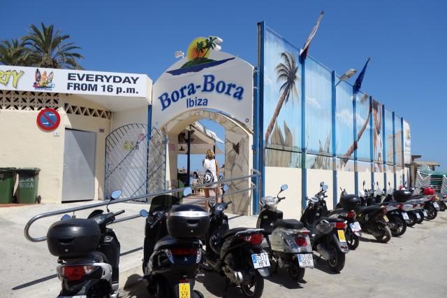Bora Bora Ibiza 入り口
