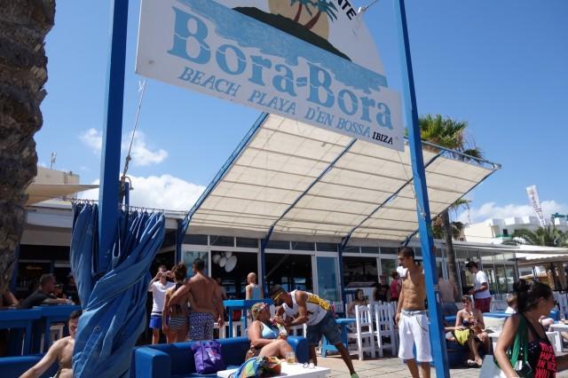 Bora Bora Ibiza 看板