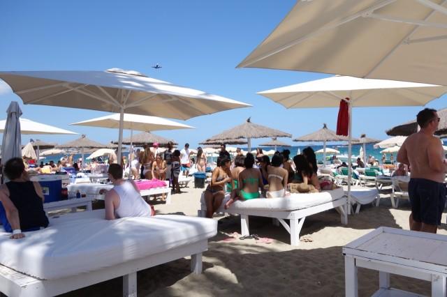 Bora Bora Ibizaビーチ