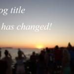 ブログ名を「ゆるくブログ」に変更しました!