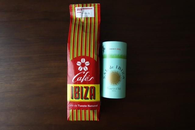 Sal de Ibizaの塩とイビサコーヒー