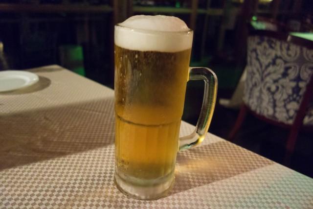 生ビール!でかい