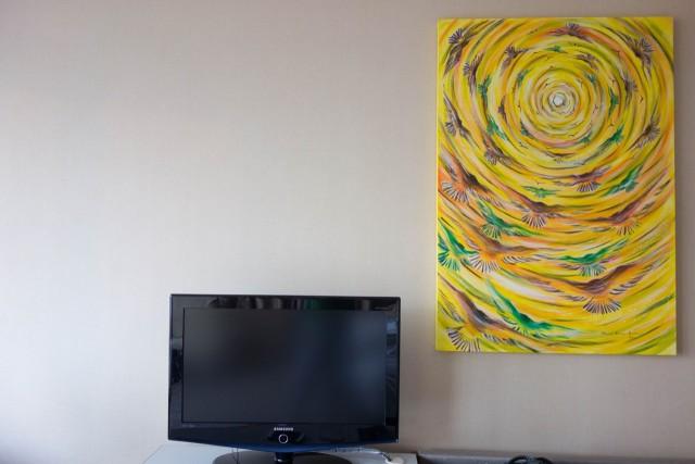 部屋にはアートも