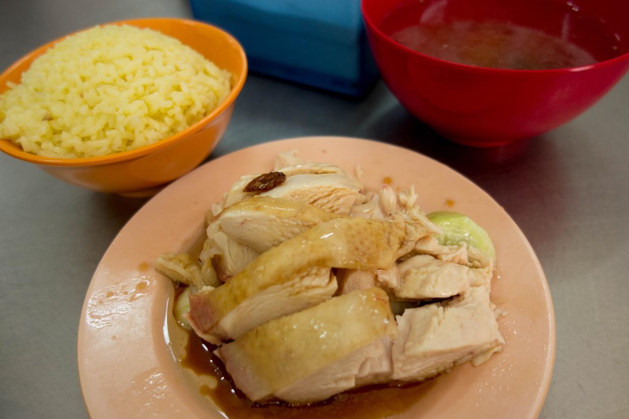 [クアラルンプール] 鸡容海南鸡饭のチキンライス