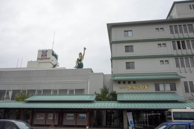 ホテルアップルランド南田温泉に宿泊。なかなかいいホテルでした。
