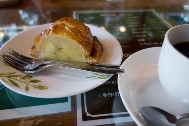 マリンブルーのアップルパイ