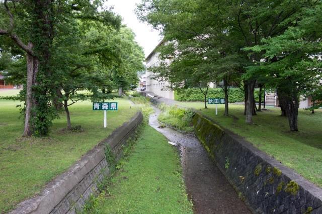 青森と秋田の県境