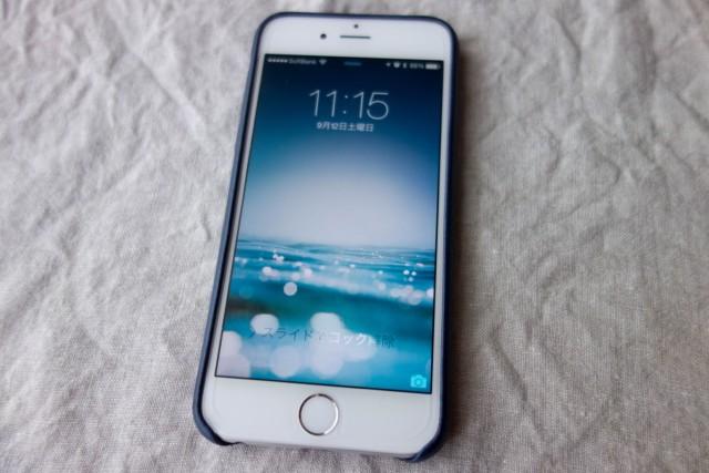 iPhone6に装着