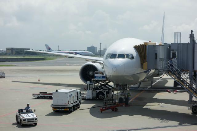 ANA NH174便で出発