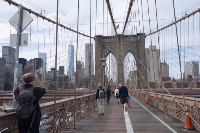ブルックリンぶらり街歩き→帰国、NYの印象