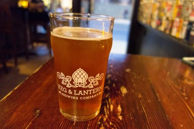 KEG&LANTERNでビール
