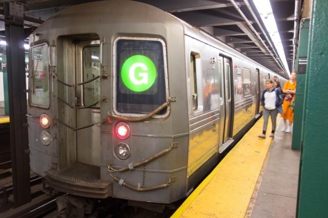 ニューヨークの地下鉄車両