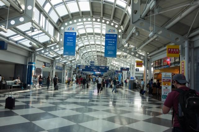 シカゴ空港
