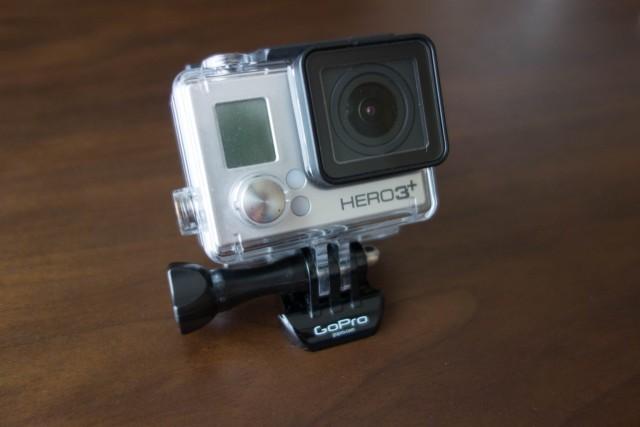 GoProが防水ハウジングでも水没しました