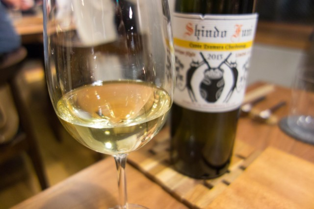 ヒトミワイナリー Shindo Funi  白ワイン