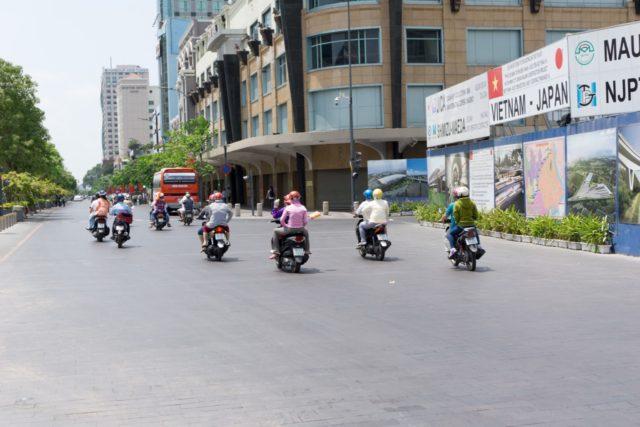 バイクの風景