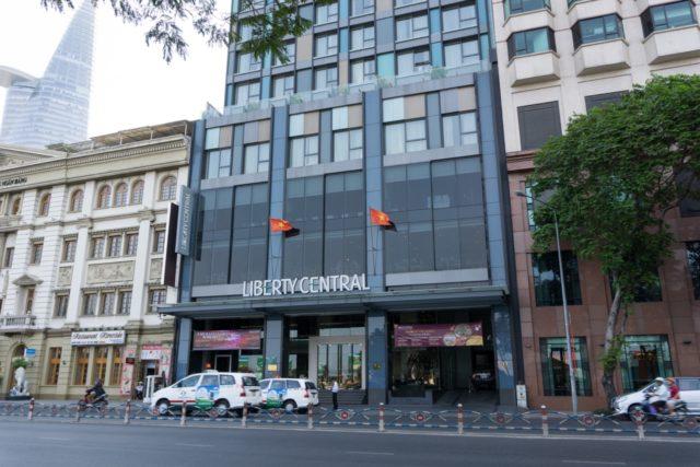 Liberty Central Riversideホテル外観