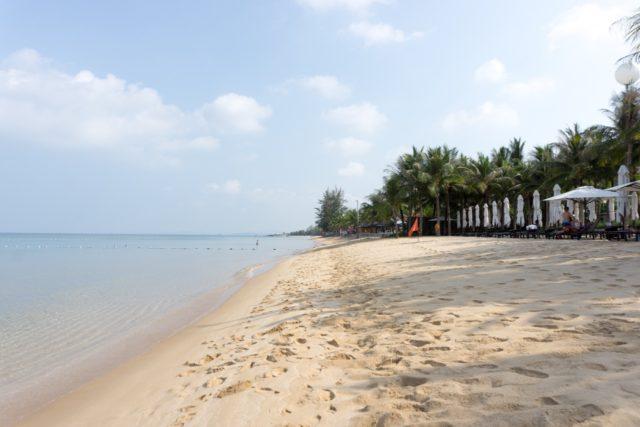 SALINDA RESORT PHU QUOCのプライベートビーチ