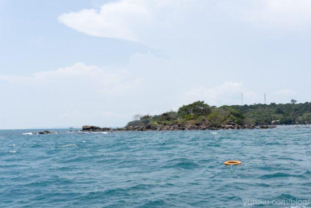 フーコック島付近