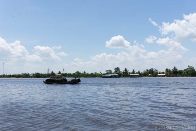 大きなメコン川