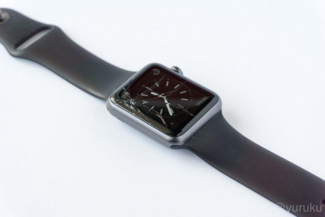 Apple Watch画面割れ