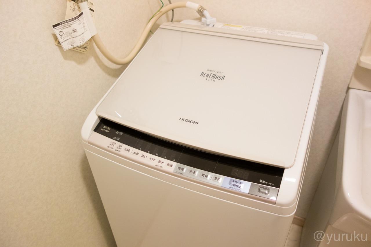 日立の洗濯乾燥機ビートウォッシュ(BW-DV80A)を購入! - ゆるく ...