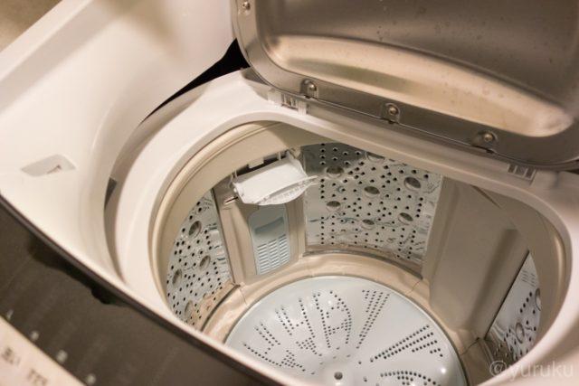 日立ビートウォッシュの洗剤投入口