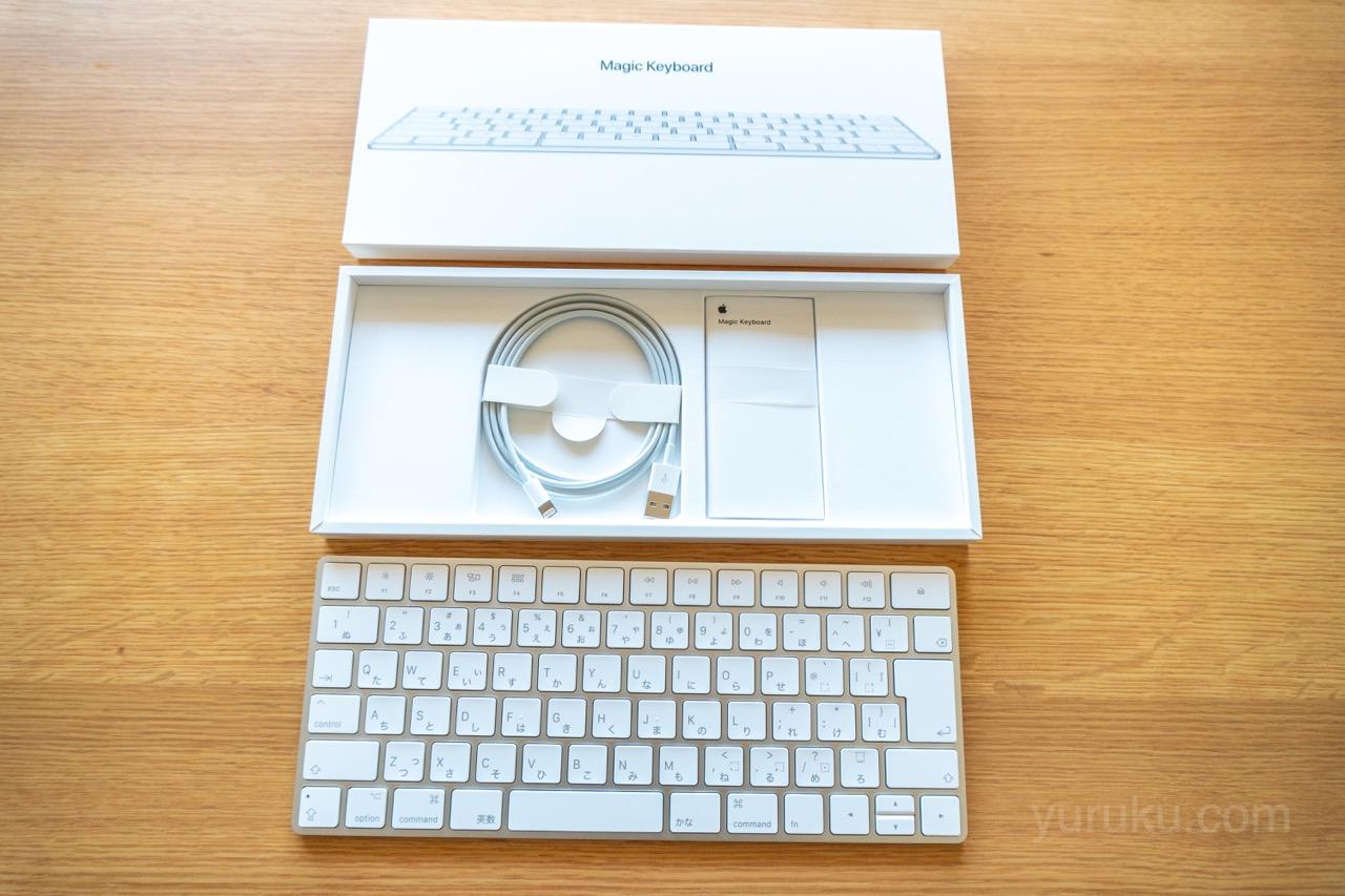 Magic Keyboardの中身