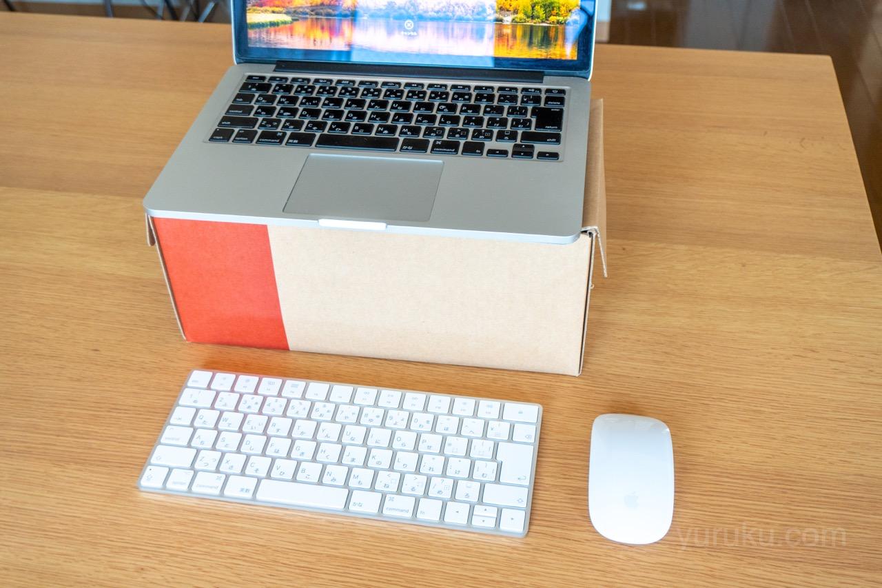 Magic Keyboardを設置