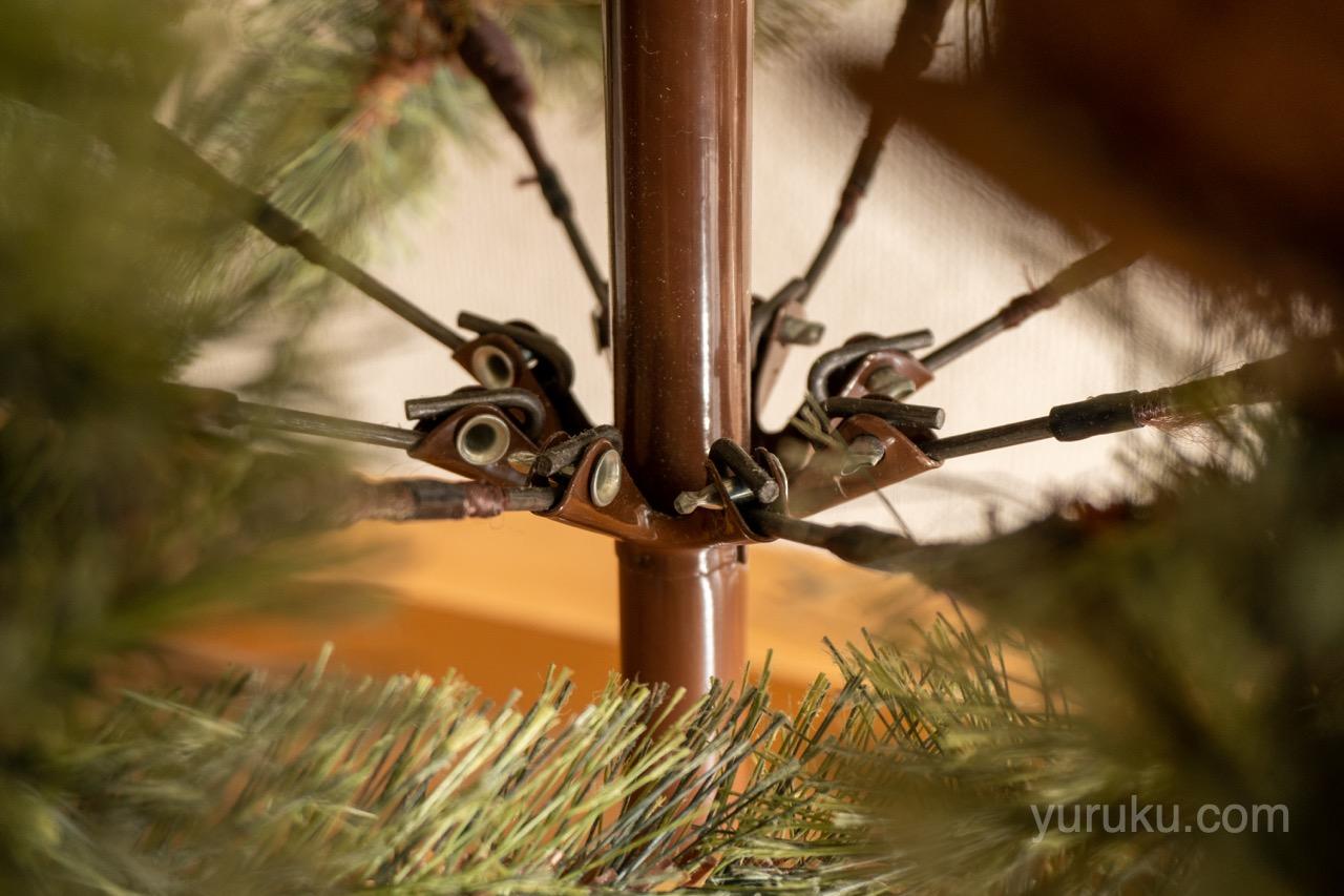 幹と枝の接合部