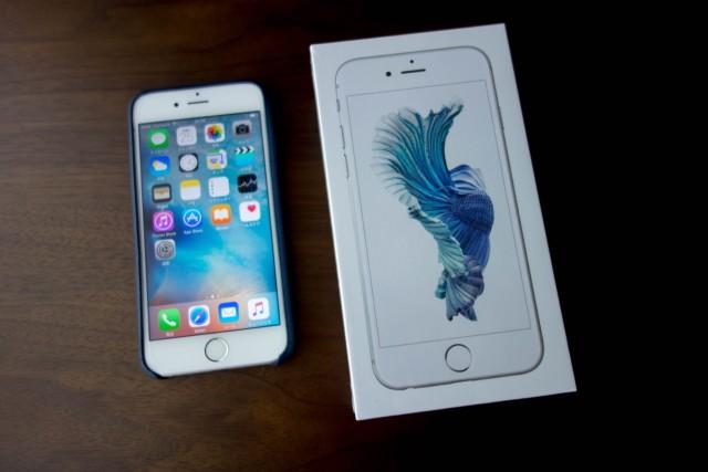 iPhone6sを購入しました