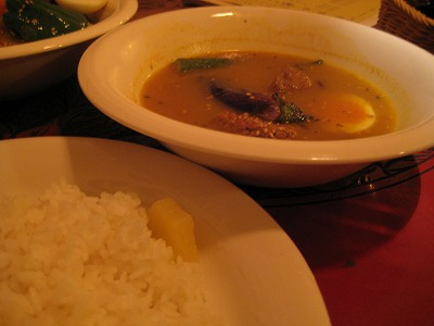 武蔵小杉:スープカレー:「Syukur(シュクル)」