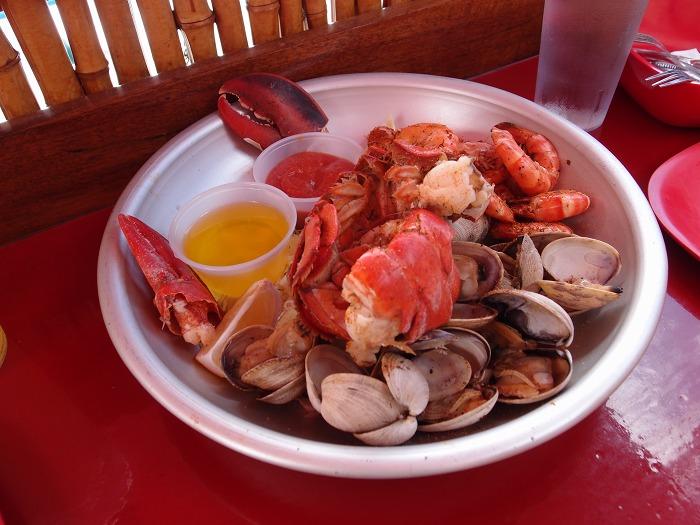 Seafood Bar Combo Platter
